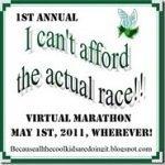Virtual Barefoot/Minimalist (Ultra?) Marathon