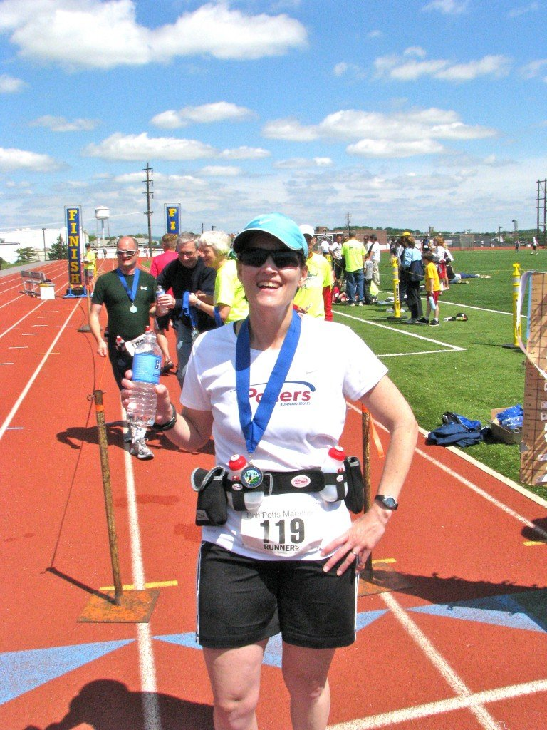 Bob Potts Marathon Finish