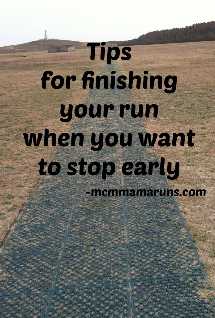 Tips for finishing your long run
