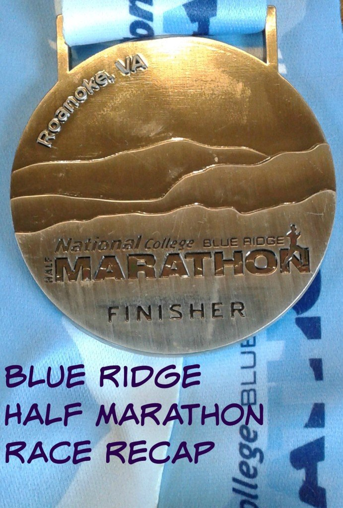 Blue Ridge Half Marathon Race Recap