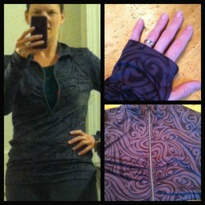 Athleta luscious half zip