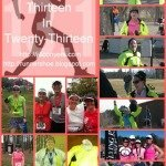 Wrap-up: 13 half marathons in 2013