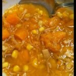 Turkey Sweet Potato Soup and more