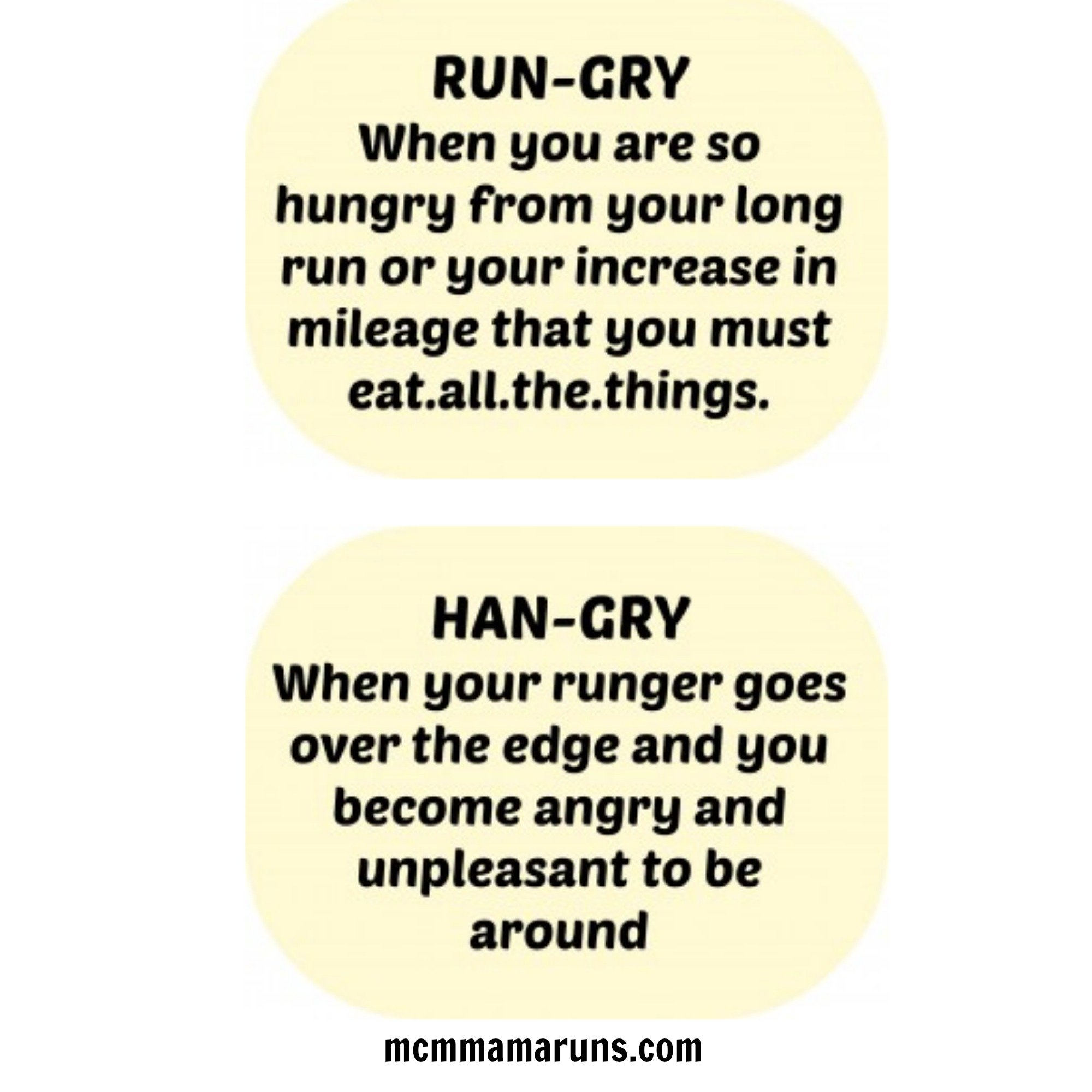 7a29ba7c72 Rungry and Hangry - MCM Mama Runs