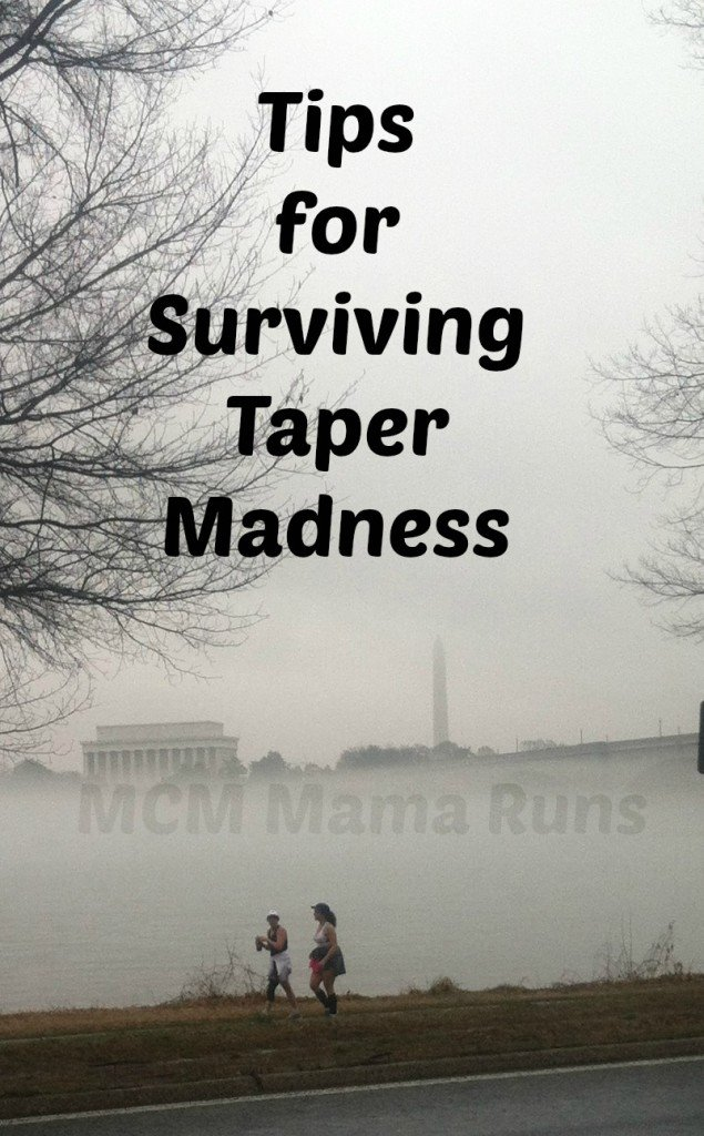 Tips for Surviving Taper