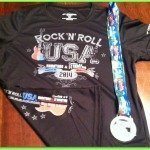 Half Marathon #1 for 2014: RnR USA