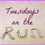Tuesdays on the Run: Will Run for Bling!
