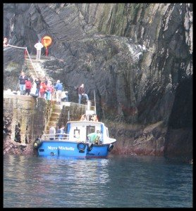 Visiting Skellig Michael