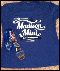 Half Marathon #15 for 2014: Madison Mini Marathon