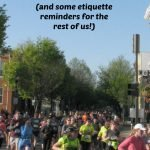 Tuesdays on the Run: Race etiquette