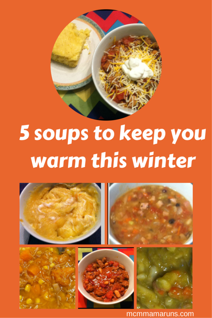 5 soups to keep you warm this winter
