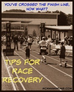 Tips for Race Recovery