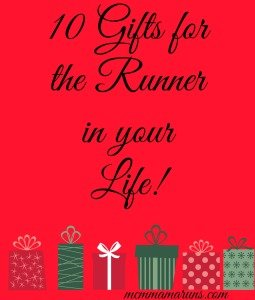 TOTR: Top 10 gifts for runners