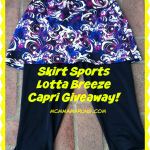 Skirt Sports Lotta Breeze Capri review and giveaway