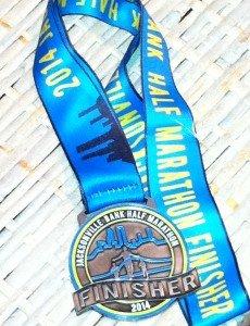 Half Marathon #17 for 2014: Jacksonville Bank Half Marathon