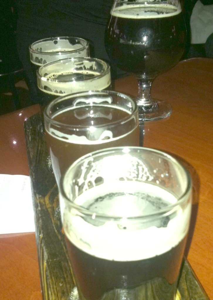 World of beer flight
