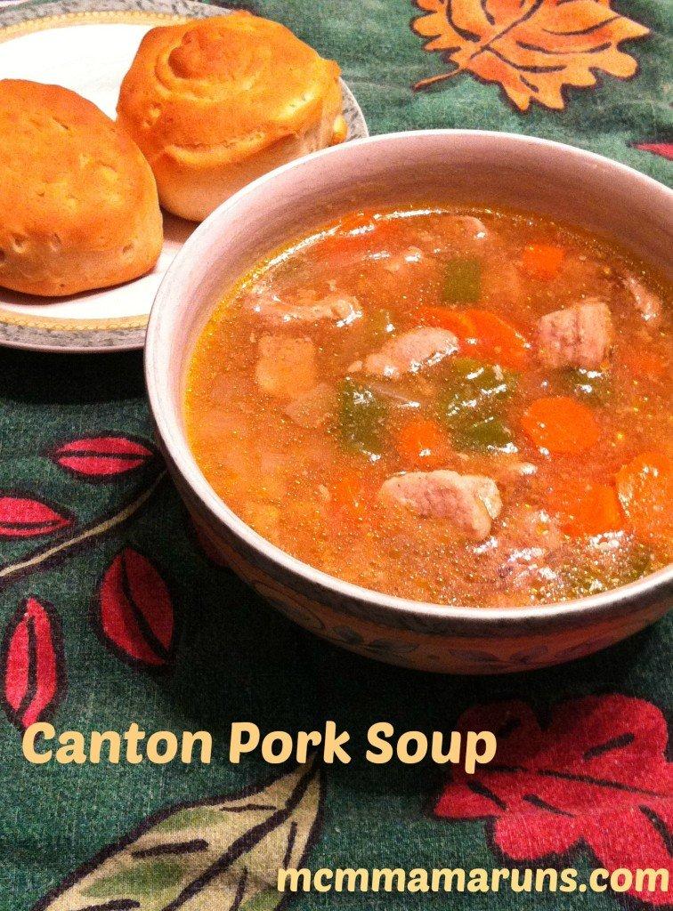 Canton Pork Soup