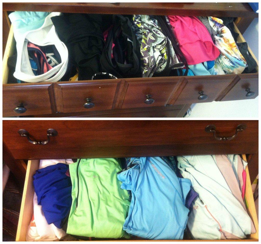 organized tops