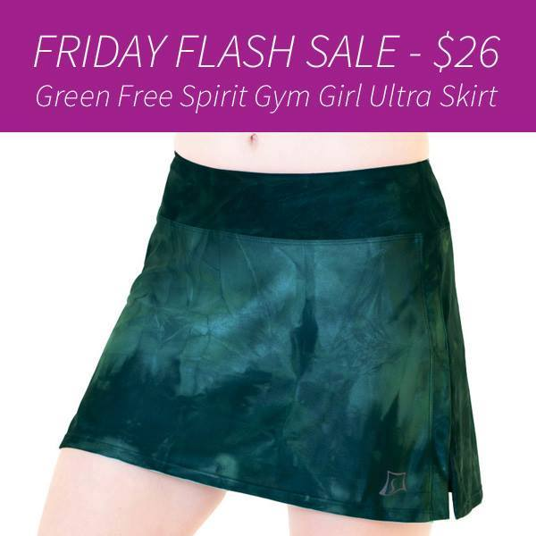 Skirt Sports Green Flash