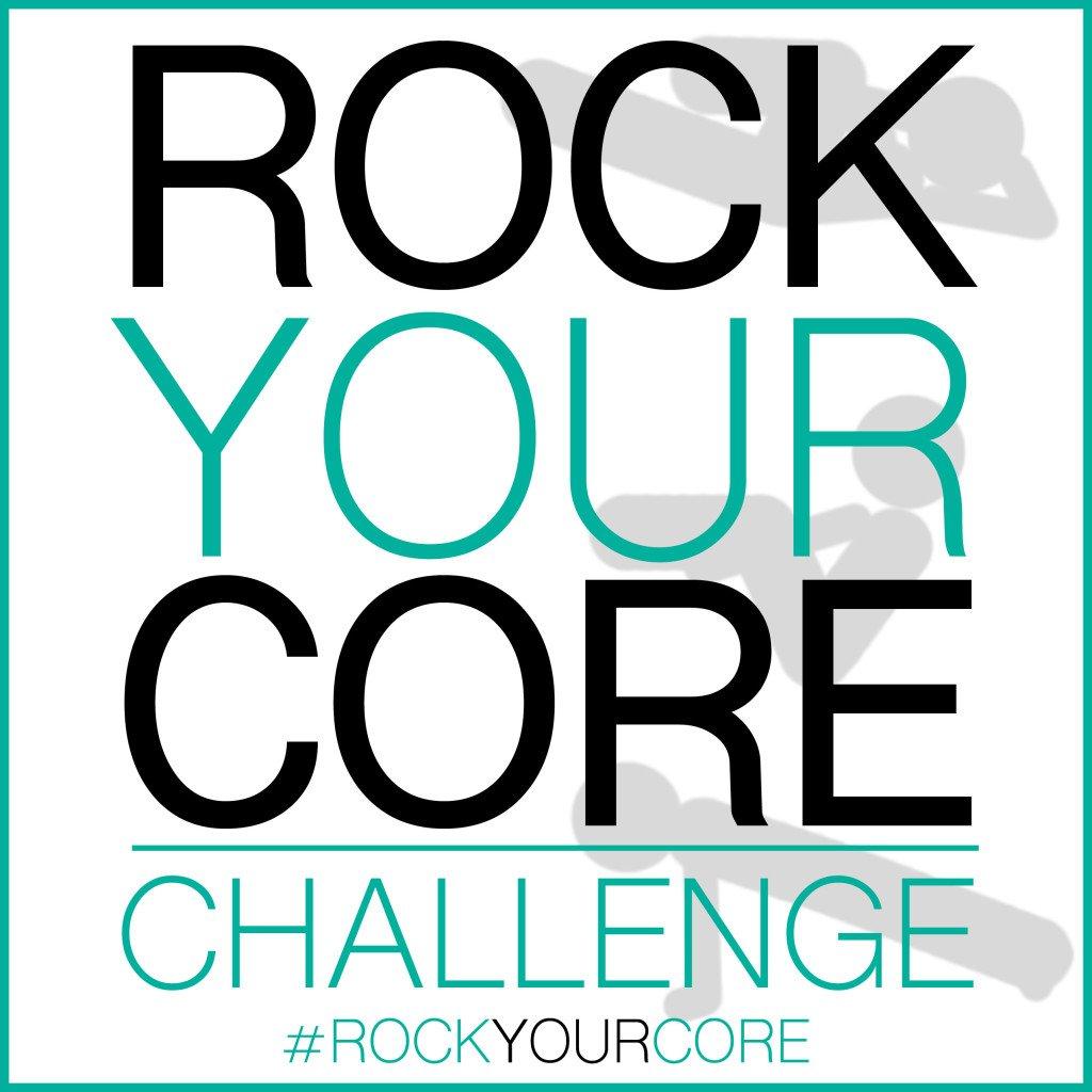 Rock Your Core Challenge Logo