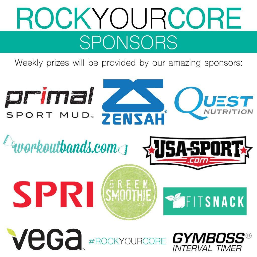 Rock Your Core Sponsors