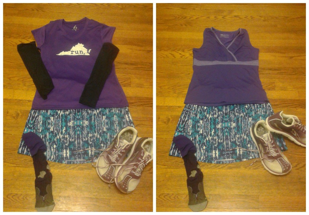 NJ MM skirt sports outfit