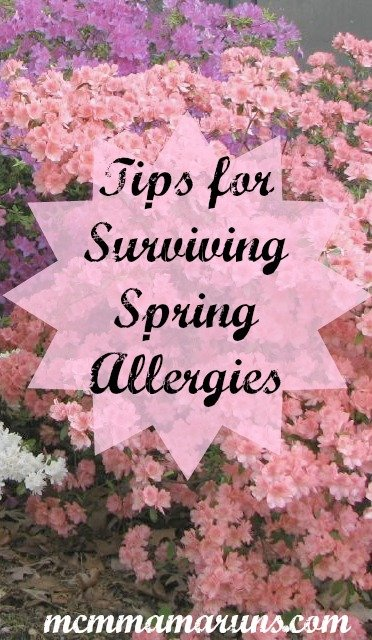 Tips for surviving spring allergies