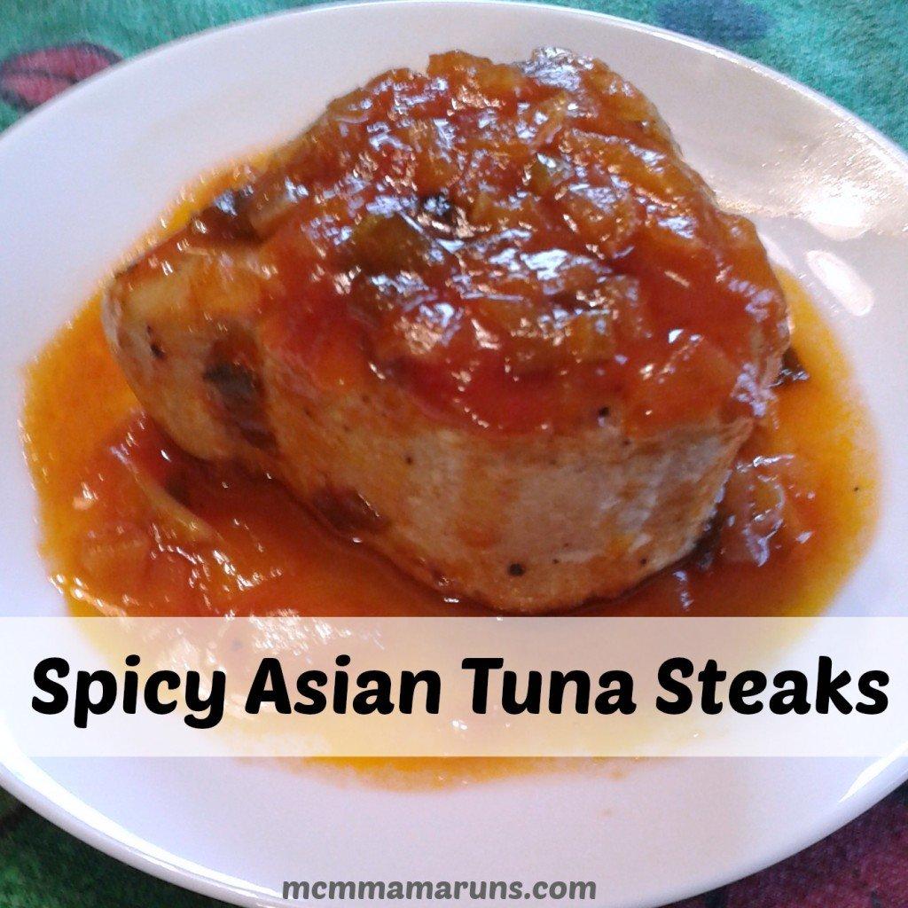 spicy Asian Tuna Steaks Insta