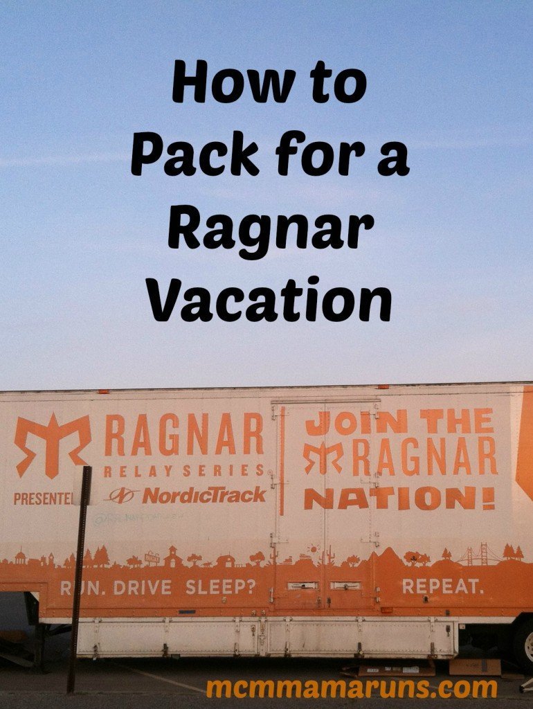 How to pack for a ragnar vacation