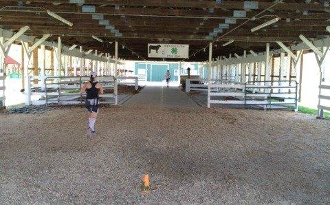 NY cattle barn