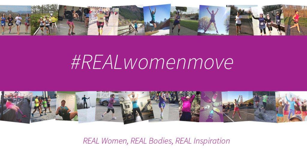 #REALwomenmove