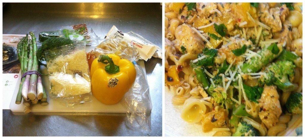 chicken pasta hello fresh