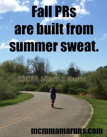 Fall PRs Summer Sweat