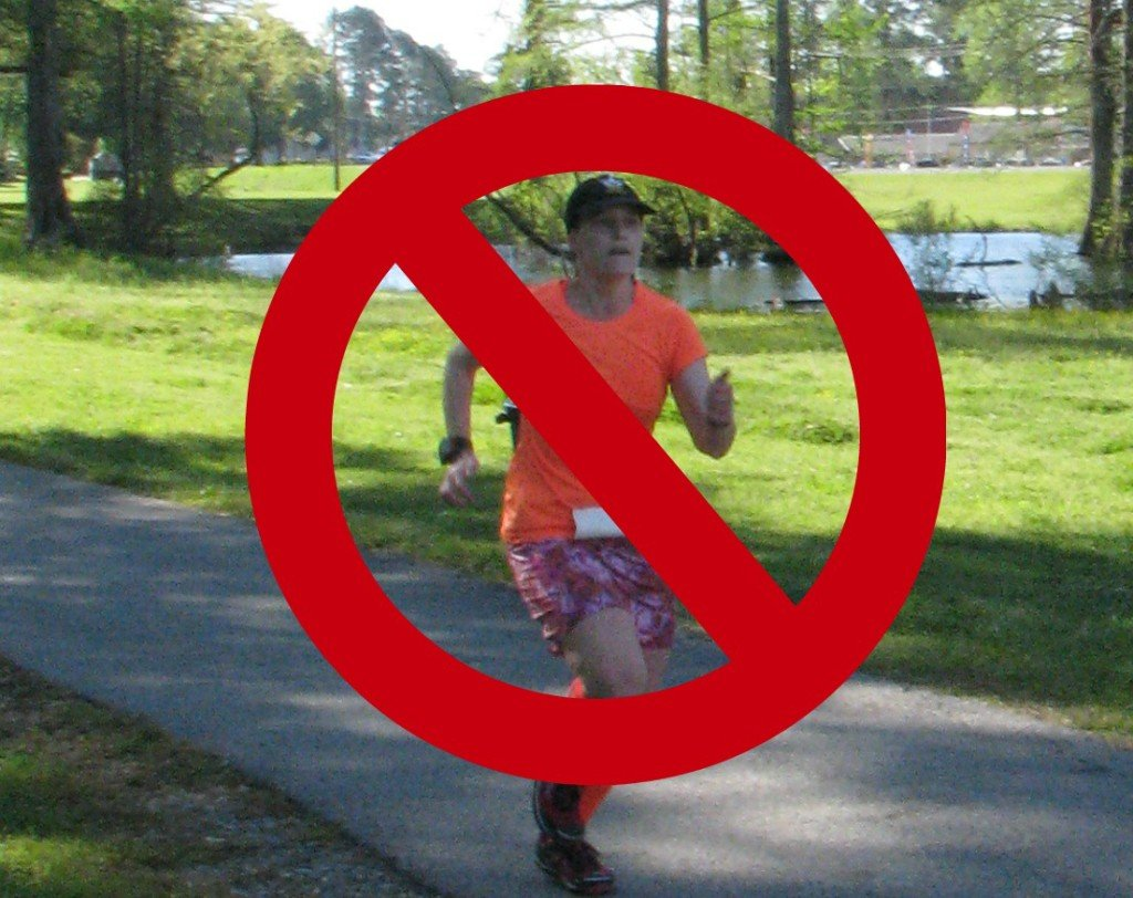 Just say no to running