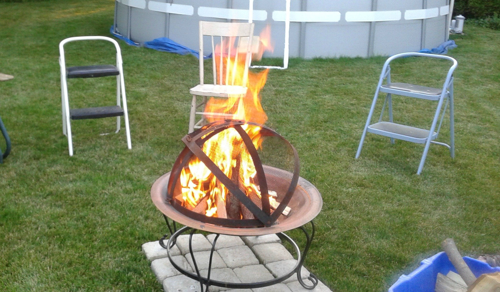 wisconsin fire pit