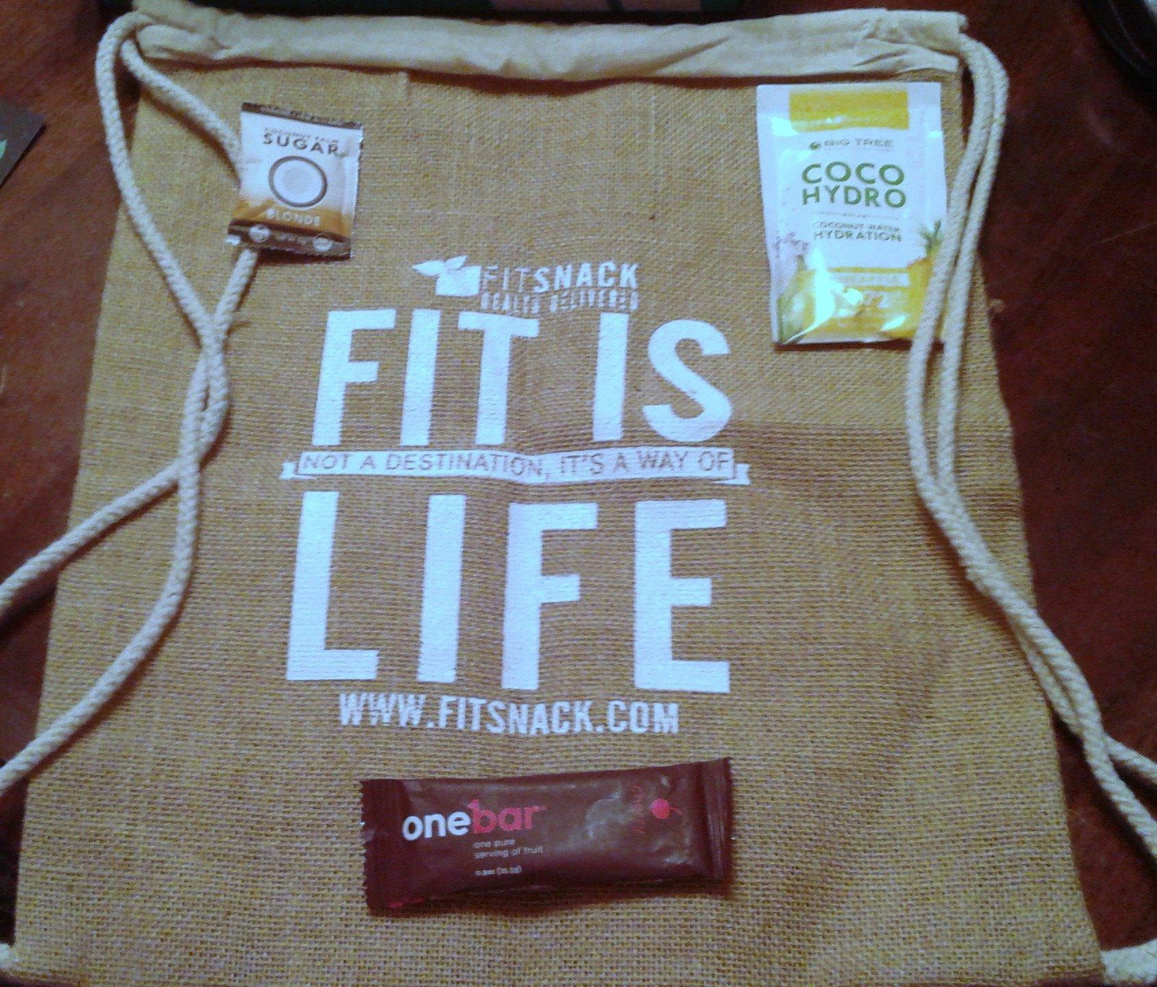 Fit Snack Gym Bag