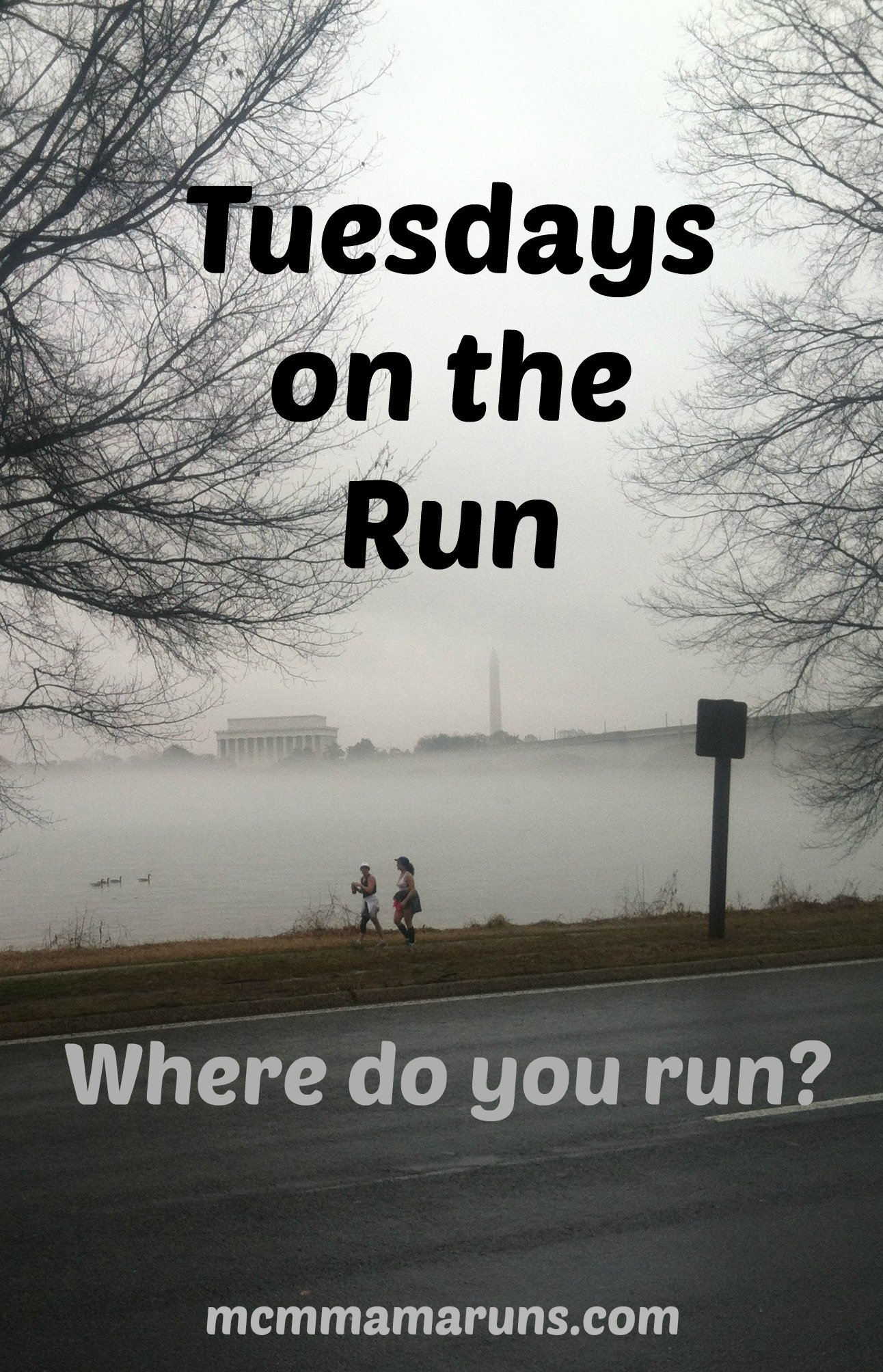 Tuesdays on the Run where do you run