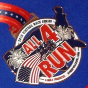 Virtual Race Recap: All4Run with Gone for a Run