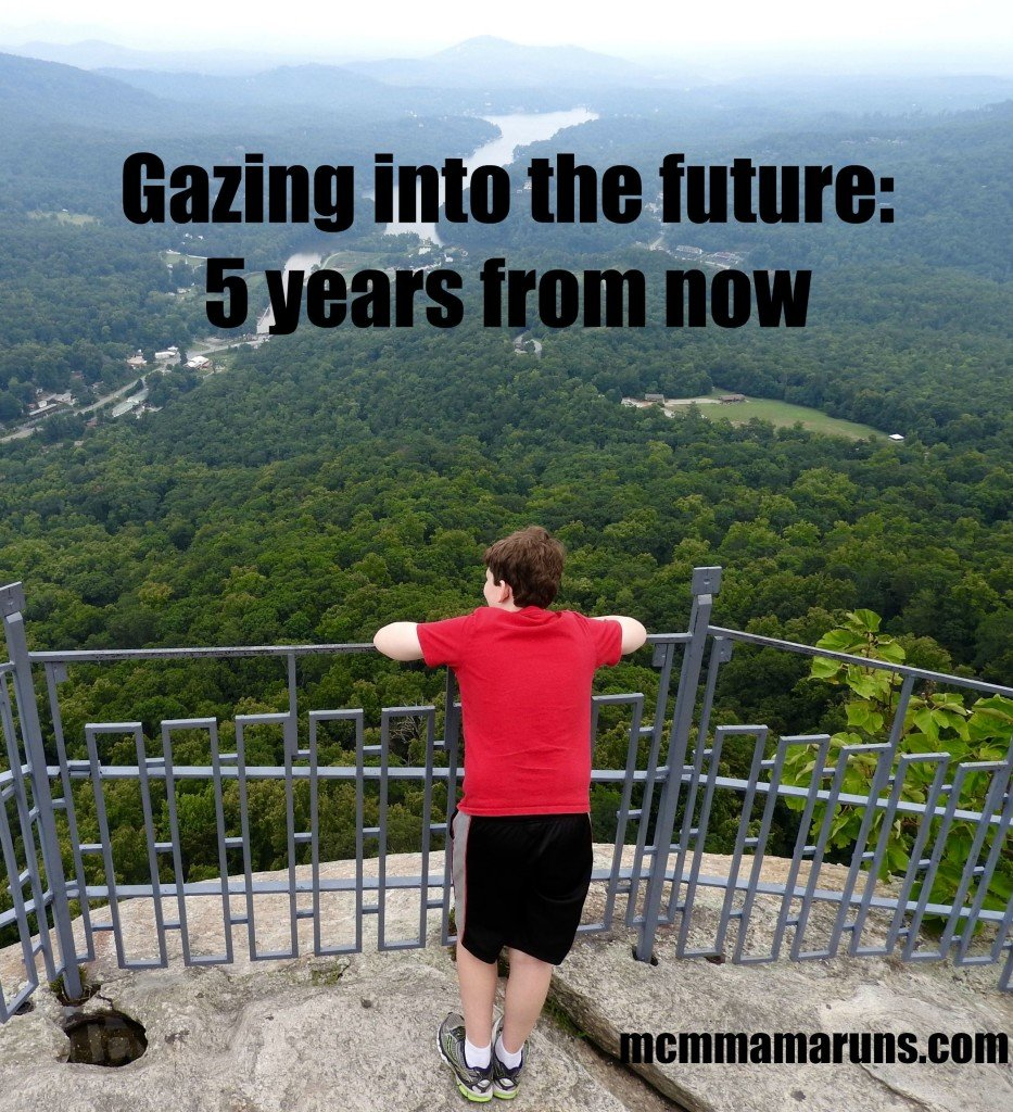 Five years from now