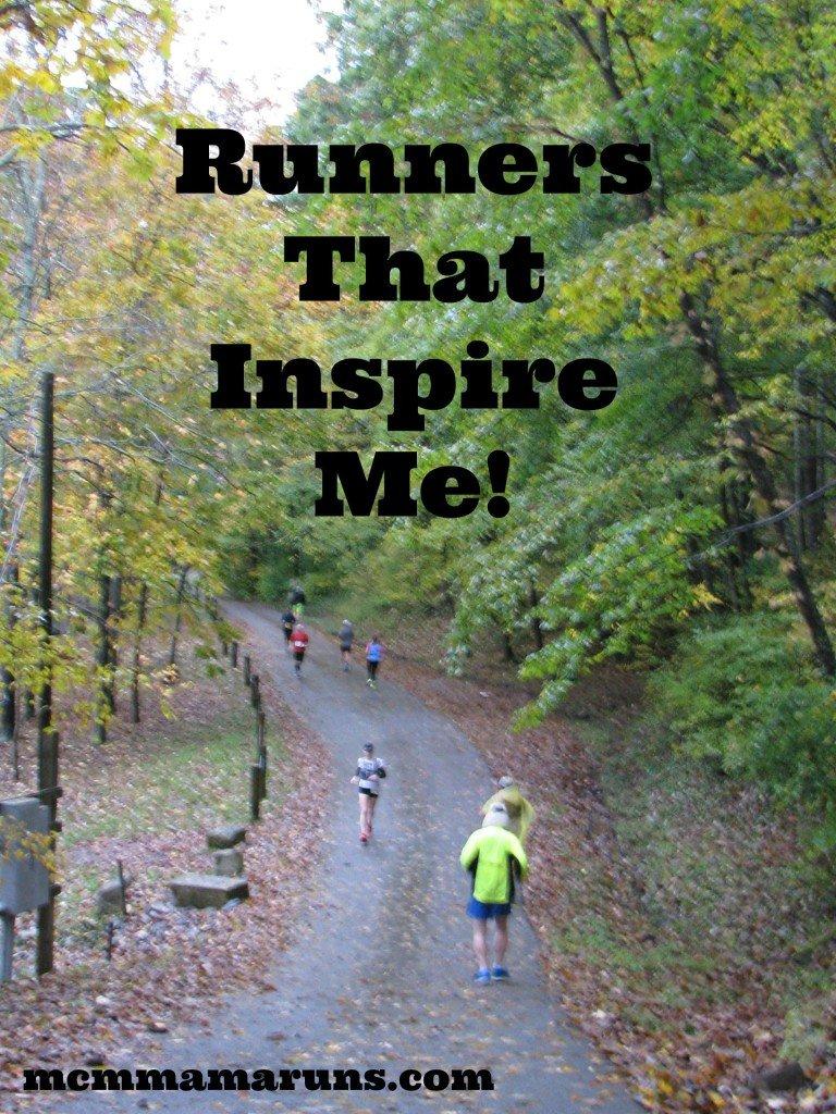 Inspiring runners
