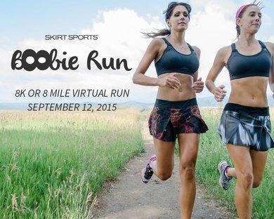 Sports Bra Boobie Run