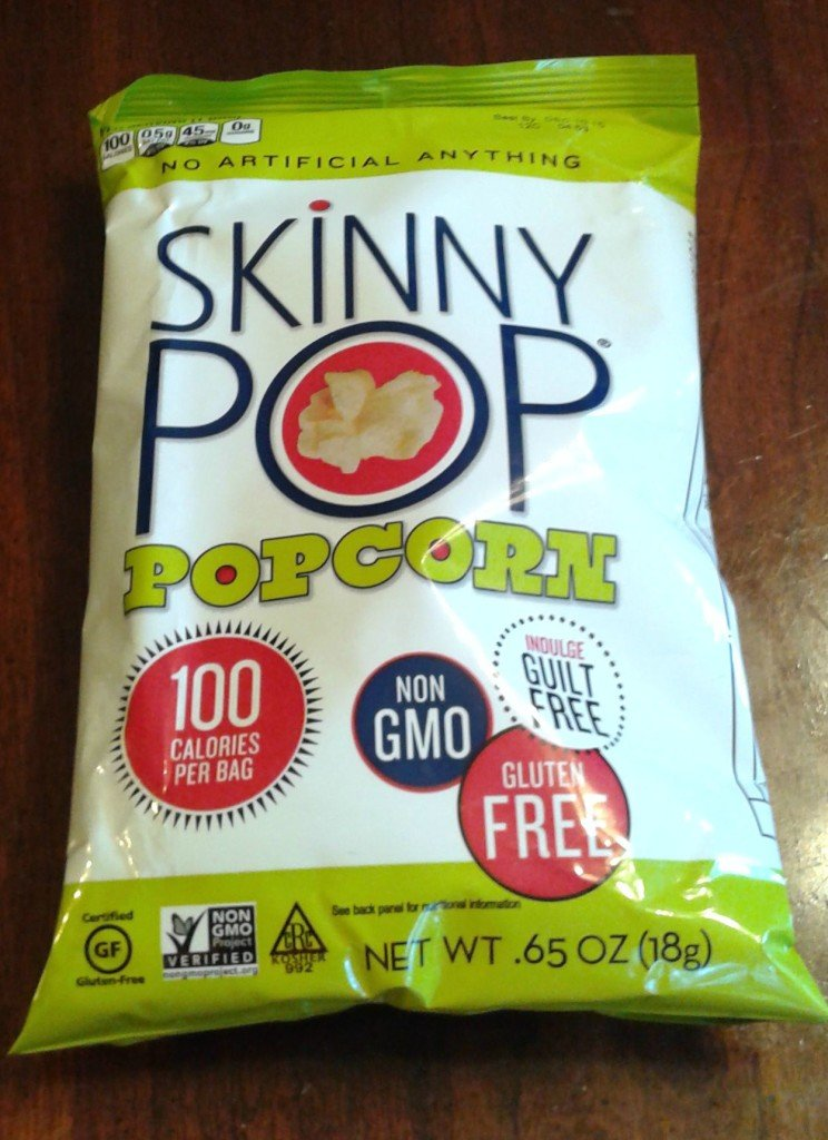 skinny pop healthy snacks