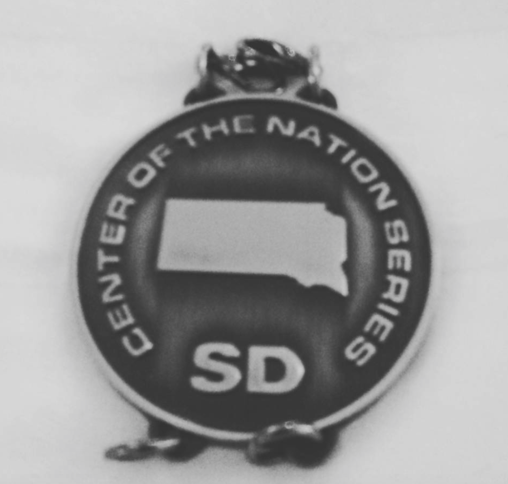 Center of the Nation South Dakota medal
