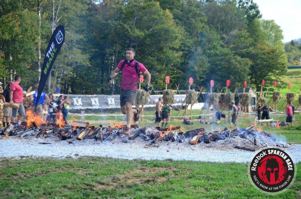 Spartan Beast fire jump