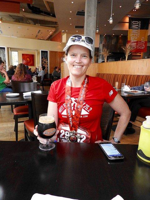Marine Corps Marathon beer