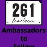 Friday Five: #261fearless Ambassadors