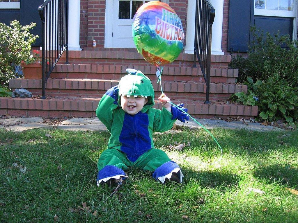 Our Halloween boy!