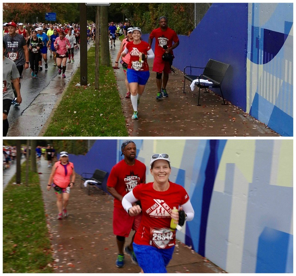 Marine Corps Marathon Lee Highway hill