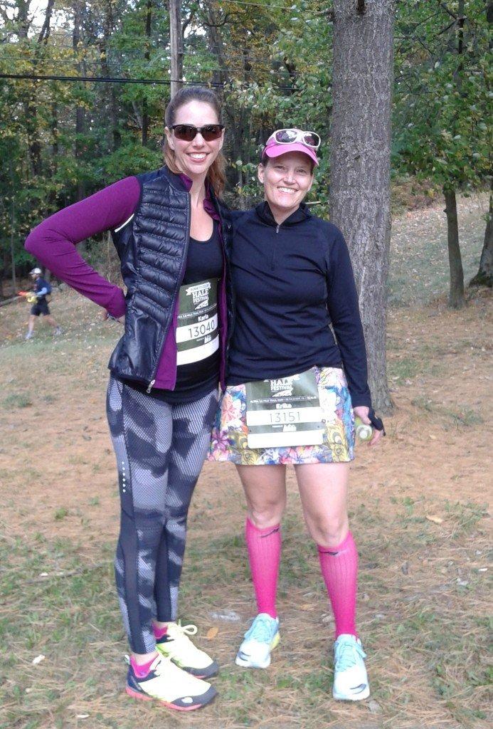 RW half Altra trail race