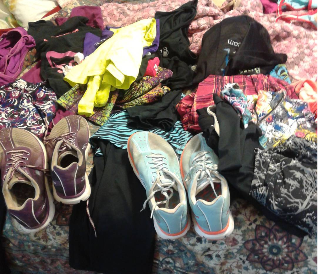 Skirt Sports and Altra explosion